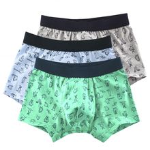 3 Pcs/Lot Cotton Children's Boy Underwear Cartoon Shorts Kid Boys Panties Briefs Boxer Underpants Kids Pant Baby Clothing(China)