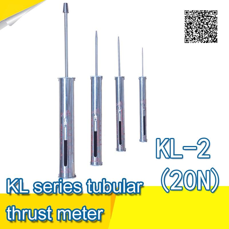 Good quality KL serice cylindric thrust meter KL-2 (20N)  thrust meter gauge<br><br>Aliexpress