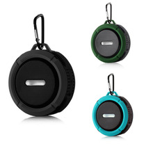 Smart Waterproof Wireless Bluetooth Speaker Portable Outdoor Climbing Covenience With Hook For Audio Player Mobile Phone PC(China)