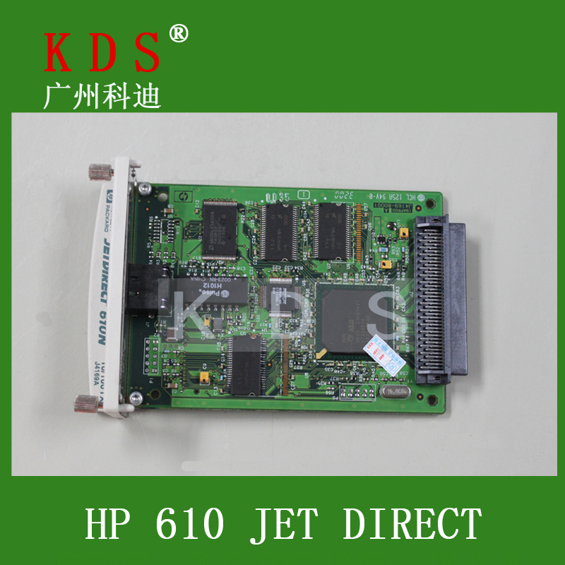 JetDirect 610n EIO Print Server J4169A for hp printer 2pieces/lot<br><br>Aliexpress