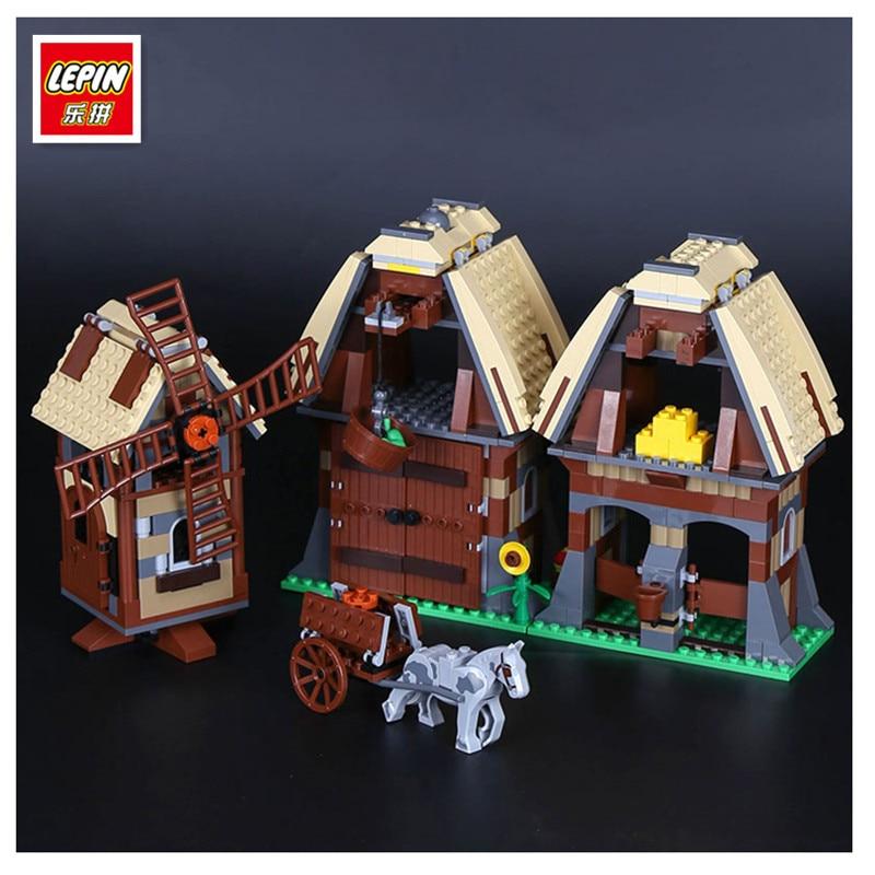 Lepin 16049 Genuine 742Pcs Creative Series The Mill Village Raid Set 7189 Building Blocks Bricks Educational Toys As Funny Gifts<br>