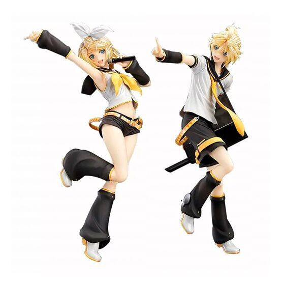 NEW hot 23cm Kagamine Rin Kagamine Len action figure collection toys Christmas gift<br><br>Aliexpress