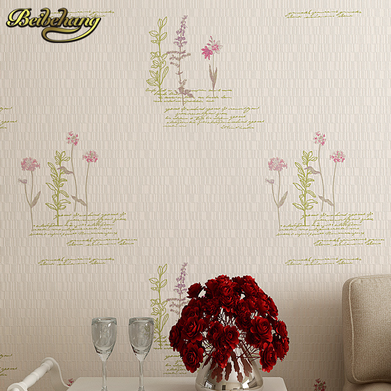 beibehang 3D Pastoral Wallpaper for walls papel de parede adesivo 3D murals wallpaper of wall paper Home Decoration papier peint<br>