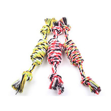 New Pet Cotton Rope Dog Toy Rat Type Pet Cotton Rope Toys 27cm Pet Molar And Clean Teeth Toy Product(China)