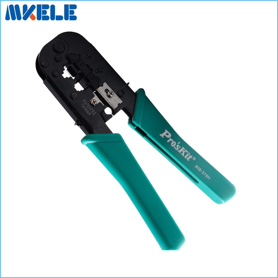 Crimping Pliers Low Carbon Steel Modular Crimping Tool (190mm) Advanced Network Cable Crimpers Crimping tool Net 808-376H <br><br>Aliexpress