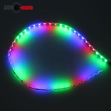1pcs 44.5cm blue/green/red Waterproof Car Light Energy Saving High Power LED Car Strips Light Source Decorations