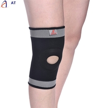 AT Fish SunDay  Warm Knee Protector Sports Tendon Training Elastic Knee Brace Supports Levert Dropship Dec15