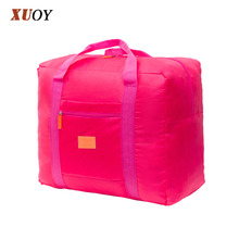 New Fashion Handbags Pvc Waterproof Nylon Foldable Women And Men Luggage Travel Bags BO7032