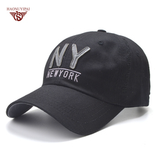 High Quality Cotton Baseball Cap For Men Women Cap Casual Hat NY Letter Snapback Caps Sun Hat Cool Adjustable Gorras