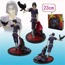 Anime Naruto Shippuden Uchiha Itachi Brinquedos PVC Action Figure Toys Collectible Model Doll Juguetes Kids 23cm - Cartoon store