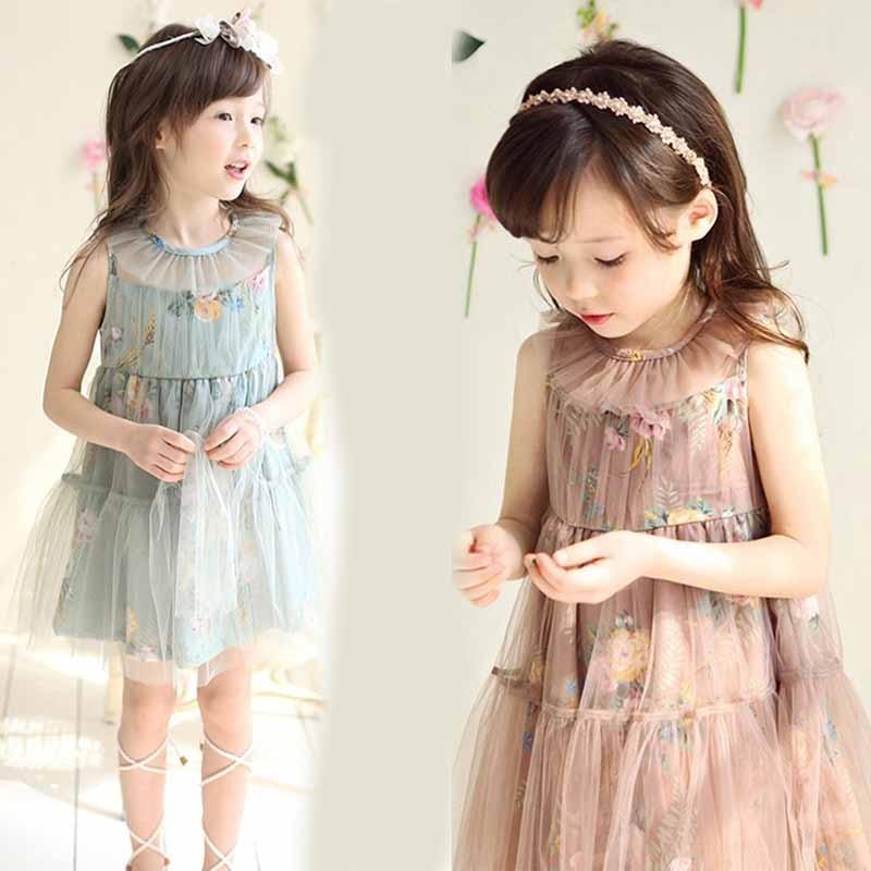 Girls Baby Toddler Floral Lace dress Chiffon Tutu Dress 3-8T baby girls Xmas clothing<br><br>Aliexpress