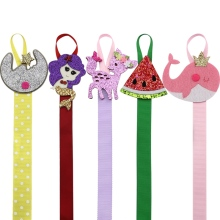 5Pcs/Lot Lovely Hairbow Holder Girls Hair Ribbons Accessories Hair Bow Hanger Hair Clip Storage Boutique Supplies(China)