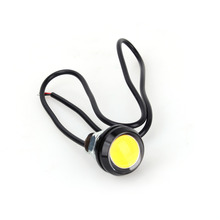 10PCS/Set LED Eagle Eye Light Car Fog DRL Daytime Running Light Reverse Backup Parking Signal Tail Light Yellow 9W 23mm