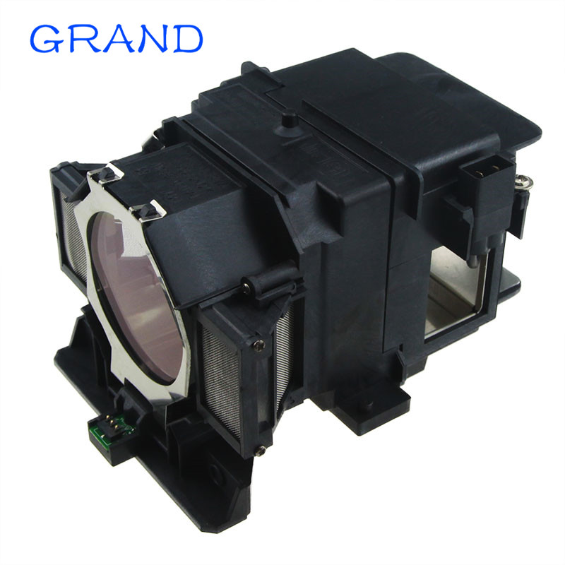 Compatible Projector lamp with housing ELPLP72 for EB-Z8350W EB-Z8355W EB-Z8450WU EB-Z8455WU EB-1000X EB-Z10000  HAPPY BATE<br>