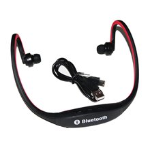 ETC-Wireless Bluetooth Headphones Headset for Cell Phone I phone Laptop(Red+Black)