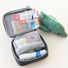 Mini Makeup Bag Outdoor First Aid Kit Bag Travel Portable Medicine Package Emergency Kit Bags Medicine Storage Bag Organizer Hot(China)