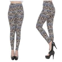 printed Leggings Hight Waist Sexy Elasticity Fitness Pant Spring autumn Women Printed Legging(China)
