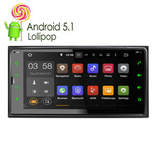 XTRONS 6.95 inch Android 5.1 Car DVD Player Radio autoradio GPS Navigation for Toyota VIos Hilux Terios Land Cruiser 100 Series