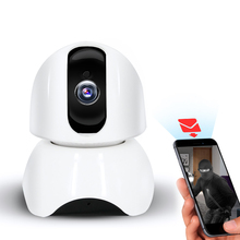 WIFI IP CCTV Camera Internet network HD video Wireless Home Security Surveillance 360 fish Eye Baby Monitor 2.0MP 10m Infrared(China)