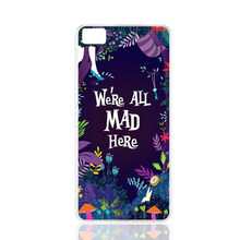 20935 we are all mad here cell phone Cover Case for BQ Aquaris M5 for ZUK Z1 FOR GOOGLE nexus 6
