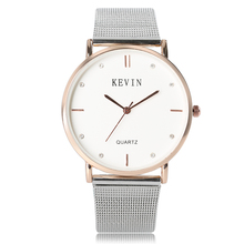 KEVIN Simple Style Unique Women Quartz Wristwatch Ladies Sport Casual Modern Watches 2017 New Arrival Fashion Relogio Feminino(China)
