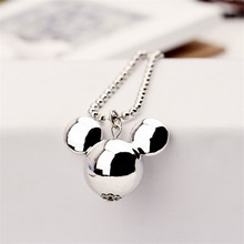 Luxury Mickey Necklace Female Wild Long Section Of Decorative Accessories Short Spring Fine Jewelry Sweater Chain BS2193(China)