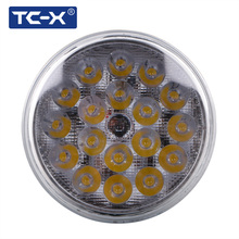 TC-X Super Power 1pcs Par36 Spot Round LED Work Light Spot LED Car lights for landing forOff Road 4X4 Tractor Truck ATV Trailers