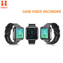 New 16GB Sport Watch Voice Recorder six recording modes support 28 languages and Password Protection mp3 WR-19(China)