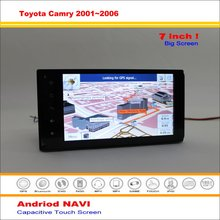Car Android GPS Navigation System For Toyota Camry XV30 / Daihatsu Altis 2001~2006 - Radio Audio Stereo Multimedia No DVD Player