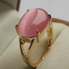 noblest  jewelry lady's favorite  GP pink jades  ring (7,8,9#)