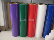 Korea 30 colors to choose free shipping Heat Transfer Vinyl cutting film, Cutter Press PVC Iron-on for textile 50cm x 100cm