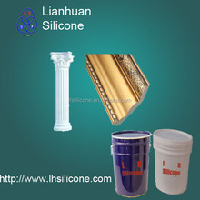 High elongation Minimum shrinkage Cornices Decorative items Molding Making Liquid Silicone Rubber