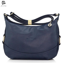 *# Brand Myston Stylish PU Leather Women's Messenger Bag Crossbody One Shoulder Bags Travel Zipper Design Bags For Ipad