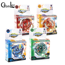 GonLeI Beyblade Metal Fusion 4D Launcher Beyblade Spinning Top set Kids Game Toys Christmas Gift for Children 30565 In gift box