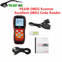 Top-rated 100% Original Xtool PS100 Scanner OBD2 Erase Trouble Code PS 100 Update Online With Best Qualtiy Hot Sale