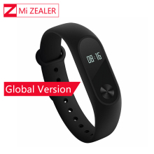 Global Version Xiaomi Mi Band 2 Miband Mi Band2 Wristband Bracelet Smart Heart Rate Monitor Fitness Tracker Touchpad OLED Strap(China)