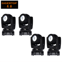 Freeshipping 4 Pack 60W Led Moving Head Light 4 Button LED Display CE ROHS Certification Mounting Clamp Omega DMX512 Control