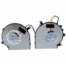 1 Pair New Left + Right CPU Cooling Fan Fit For MSI GE62 GE72 GL62 GL72 PE60 PE70 GL62 P0