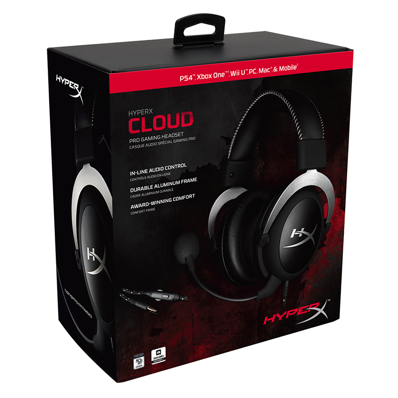 KINGSTON HyperX Cloud series Gaming Headset Suitable for computer phone tablet Headphones With microphone