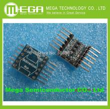 5pcs/lot 5V-3V IIC UART SPI Four Channel Level Converter Module for Fe2232 Free Shipping via China Post