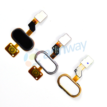 Meizu M3S Home Button FingerPrint Flex Cable Ribbon Replacement Parts MEIZU M3S Button Key Black/White/Gold