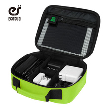 ECOSUSI New Digital Accessories Finishing Bag Data Charger Cable Storage Bag Mp3 Earphones Usb Flash Drive Finishing Bag