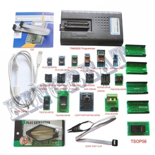 2017 New TNM5000 USB EPROM Programmer memory recorder+17pc adapter for NAND flash/EPROM/MCU/PLD/FPGA/ISP/JTAG,Laptop/Notebook IO(China)
