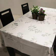 PVC Pastoral Style Table Cloth Waterproof Oil Proof Non Wash Table Cloth Pastic Pad Plus Velvet Anti Hhot Coffee Tablecloth(China)