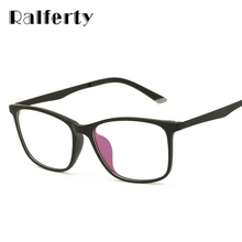 Ralferty Ultra Light TR90 Computer Glasses Frame Eyeglass Men Women Optical Frames Degree Myopia Glasses Clear Oculos 1660