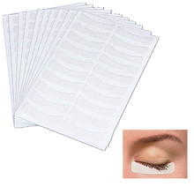 100pairs/pack Medical non - woven fabrics Patches Eyelash Under Eye Pads Lash Eyelash Extension fabric Patches Eye Tips Sticker