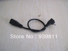 25cm USB2.0 Mini Left Angle Male to Female Converter Extention Cable Cord