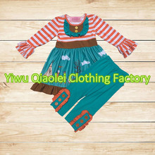 Baby boutique wholesale thanksgiving dress kids frock designs kids clothing