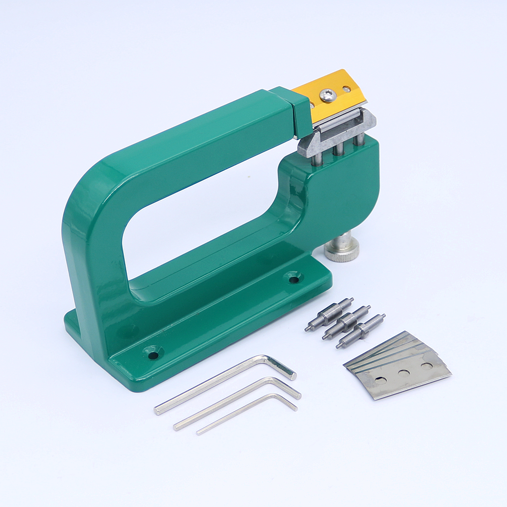 Aluminum Leather Splitter Tool Manual Leather Paring Device Kit Leather Skiver Peeler Leather Tool<br>