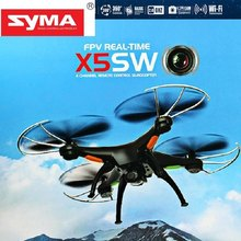 Real Time RC Helicopter Syma X5SW Explorers 2 2.4GHz 6 Axis 4 Channel WiFi FPV RC Quadcopter with 0.3MP HD Camera RTF